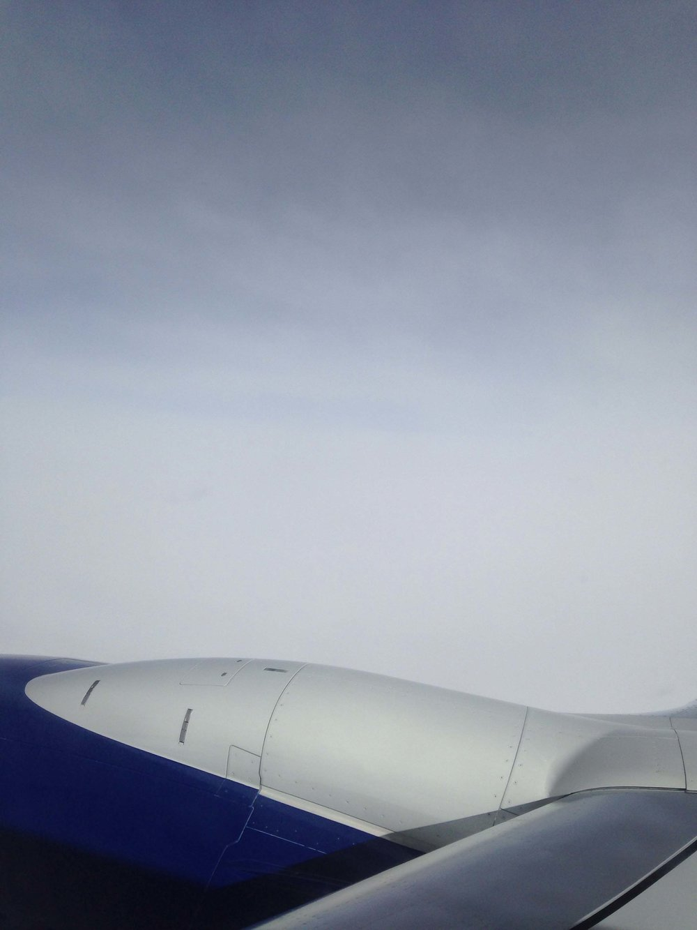 Boeing, in flight