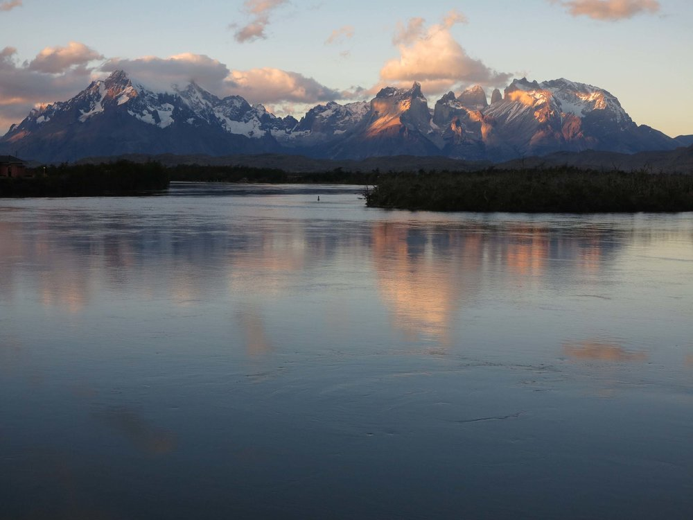 Rio Serrano and Torres del Paine National Park