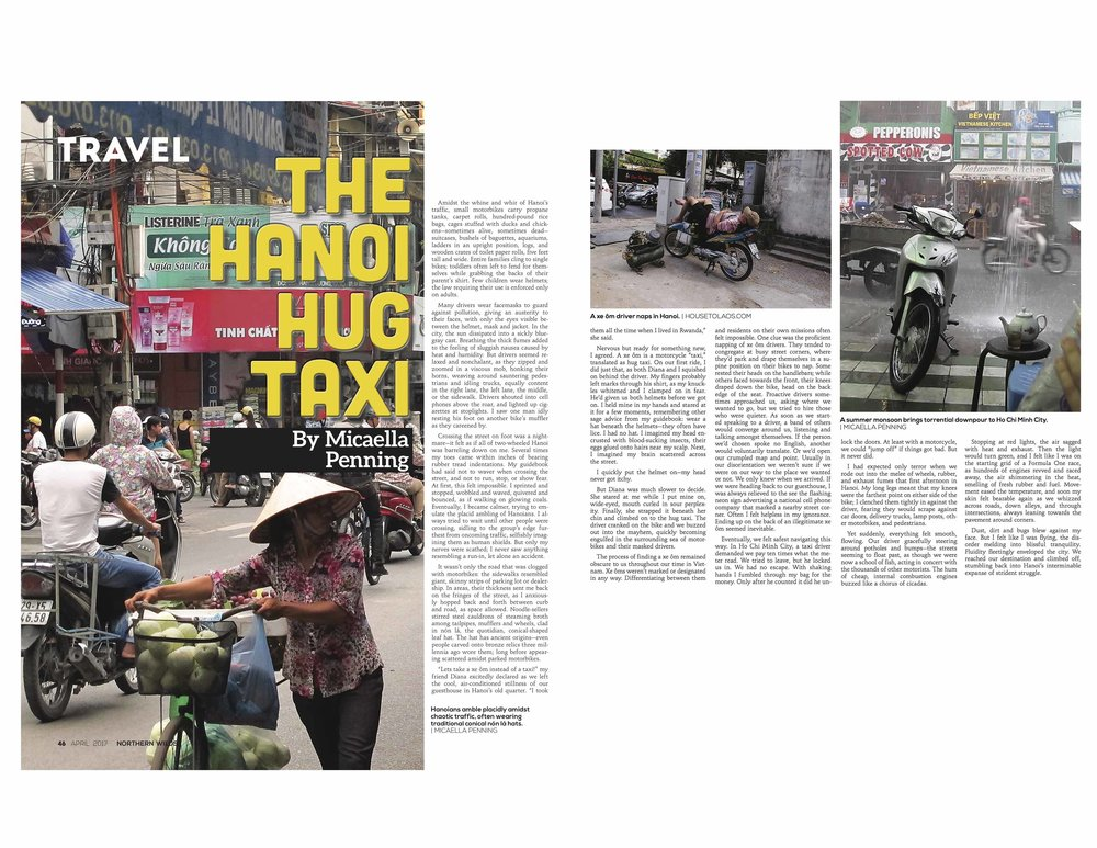 The Hanoi Hug Taxi  in Northern Wilds