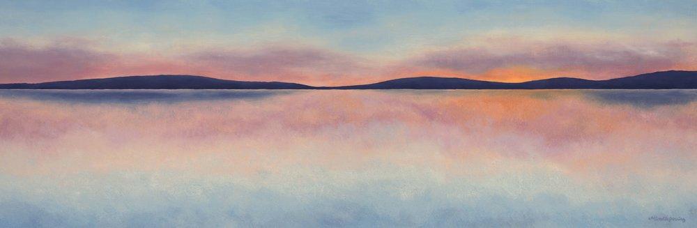 12 x 36, Oil on Linen (Sold)