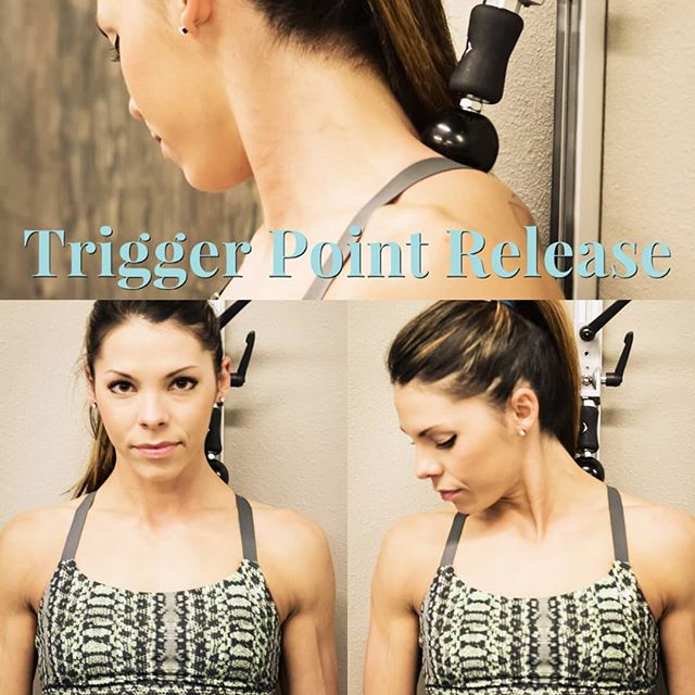 Trigger point release is often referred to as TPR. This is a soft tissue mobilization where direct pressure is applied to a muscle that is painful, spastic, and firm to touch. TPR is thought to cause a relaxation of the muscle upon release of the pressure. Trigger Point Dry needling is another method for treatment but obviously cannot be done alone. Here, Kelli applies TPR methods to her upper trap and levator scap, 2 muscles prone to developing trigger points in athletes and also desk workers or drivers using the T-Dot Mobility System. #tdotmobility #triggerpoint #triggerpointrelease #tpr #triggerpointdryneedling #dryneedling #selfmobilization #selfmyofascialrelease #massagetherapy #uppertrap #uppertrappain #levatorscapulae #textneck #pina#activerelease #ART #MovementMafia #movelikethis #movementguides link in bio