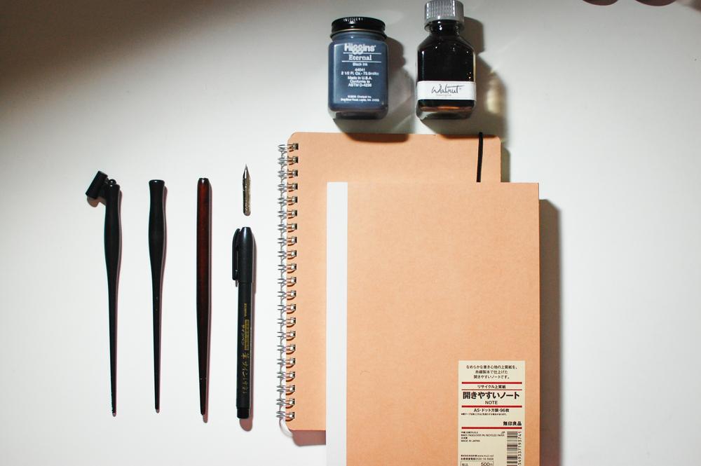 Calligraphy starter tools u inkerella