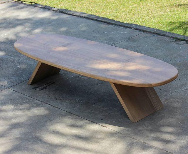 Coffee Table   Oak . . . . #woodworking #wood #oak #flatpack #shade #tropical #maderaslife #californiabound