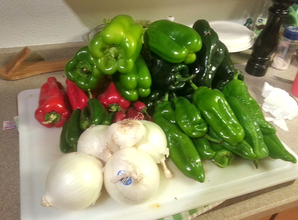The Joy of Slow Food (Chili Verde Dove) - Cynthia B Well