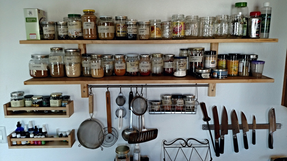 Bulk Spices Organization - Cynthia B Well