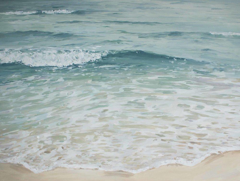 "Seaside Shoreline 36x48"""