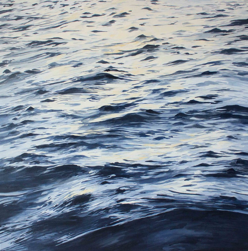 """Next to Still Waters 30x30"""""""
