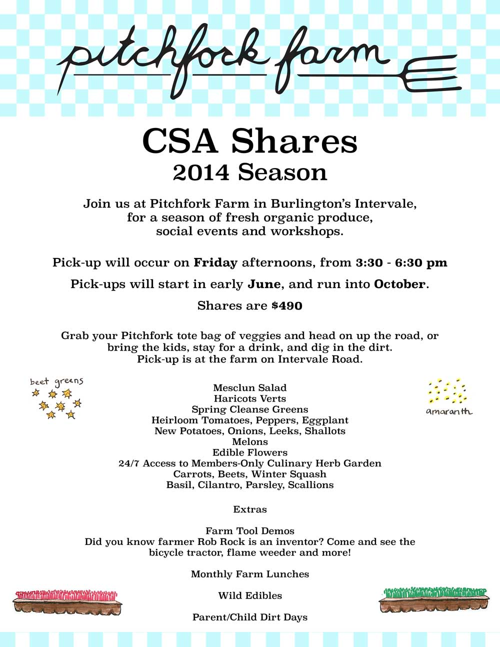2014 CSA Share Poster