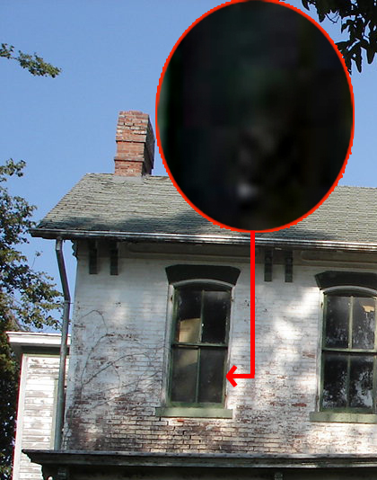 Possible Matrixing Or Face In Window?