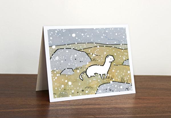 weasel card