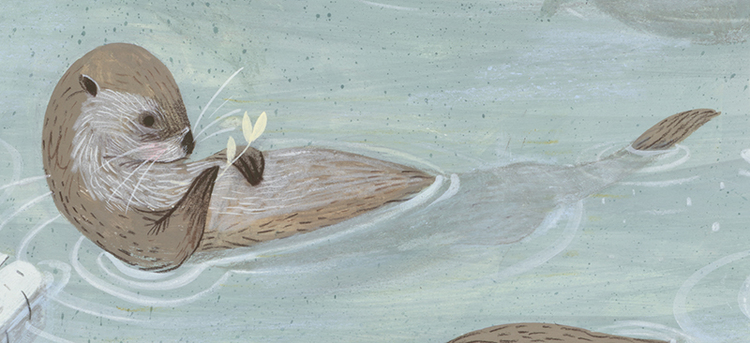 otter-painting-rebecca-green