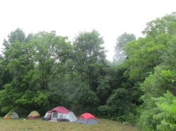 One of our campsites.