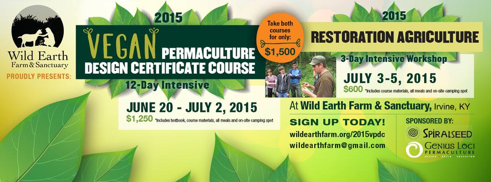 2015 Vegan Permaculture Design Course | Vegan PDC