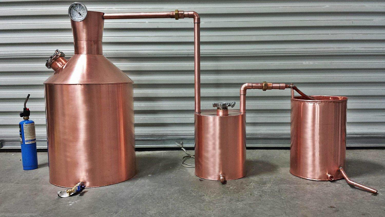 Traditional Appalachian Moonshine Still 10 30 Gallon Burner Style Whiskey Diagram Stills Distillery Equipment