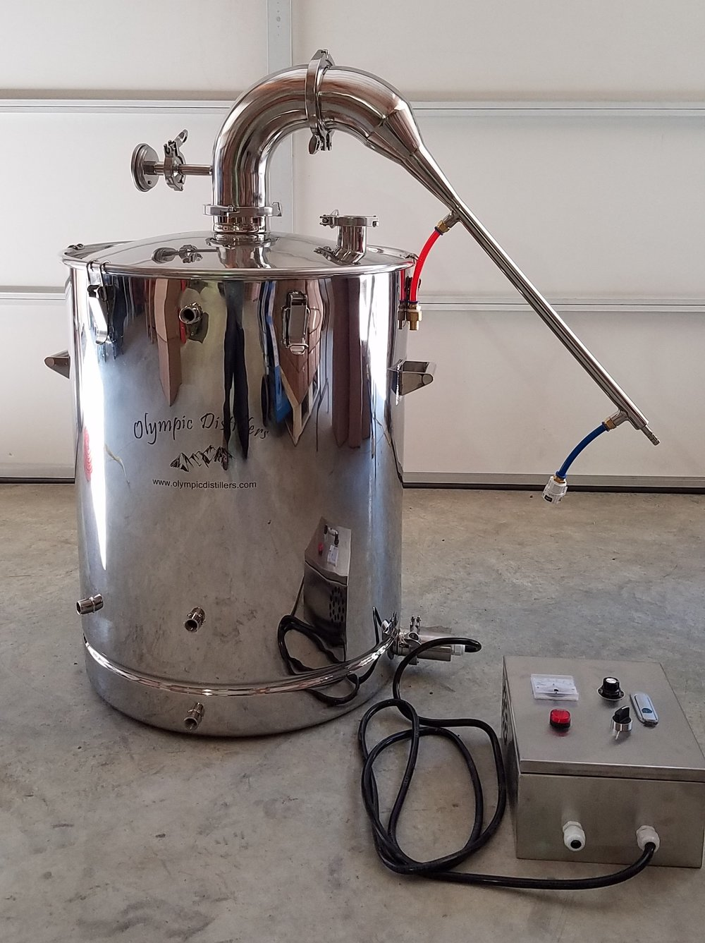 stainless steel essential oil still 200L