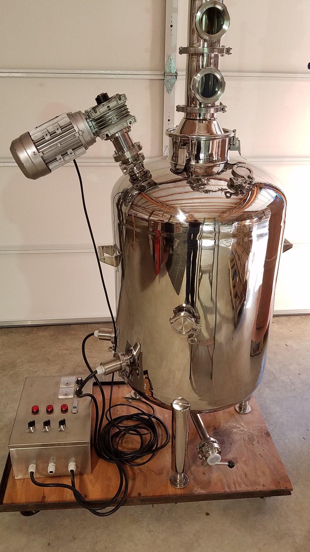 53 Gallon 200 L Boiler With Agitator 220v Electric