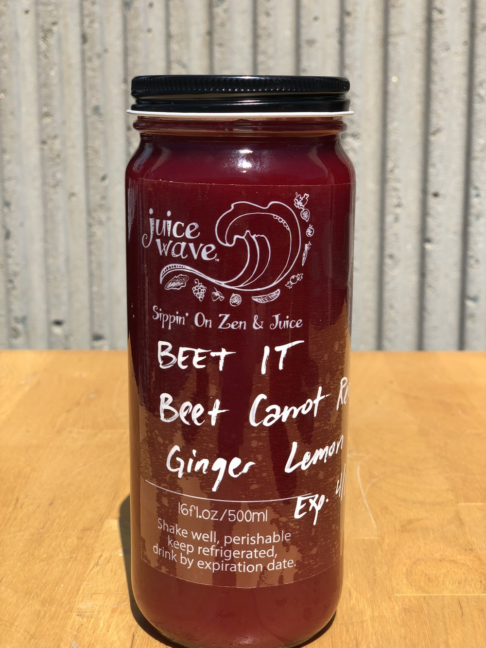 BEET IT: Beet, Carrot, Red Apple, Ginger, Lemon