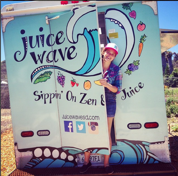 Juice Wave launched its debut at the North Park Farmer's Market the first week of March 2014