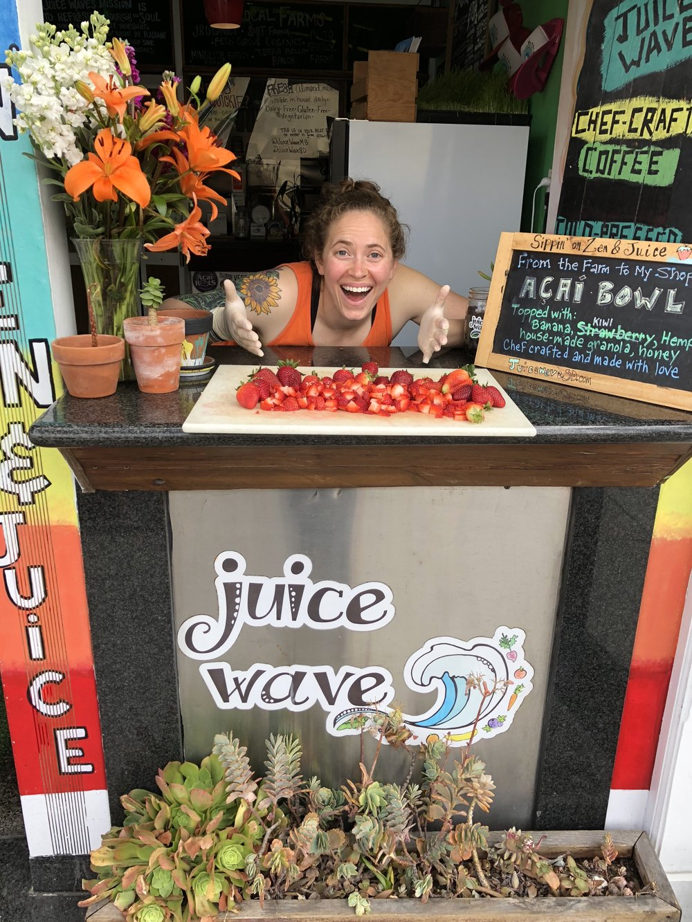 Juice Wave opened its first storefront in Mission Beach the first week of April 2015