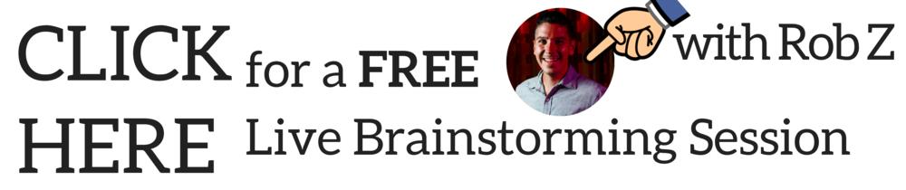 free live social media brainstorming session