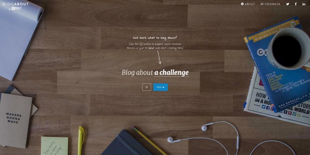 blog-idea-generation-tool