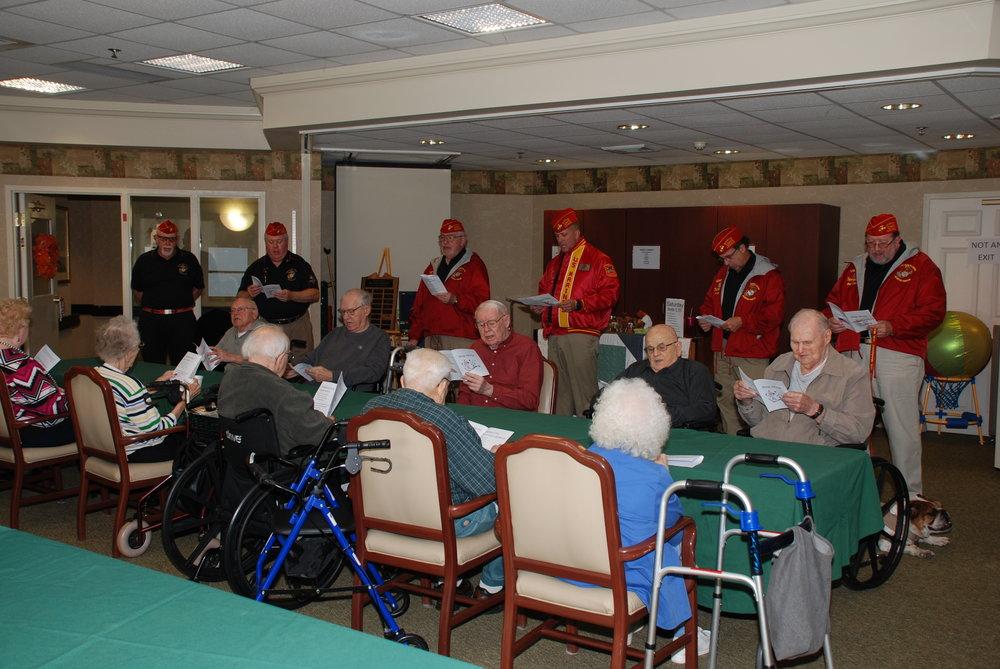 Lehigh Commons Nursing Home Visit 11-11-16
