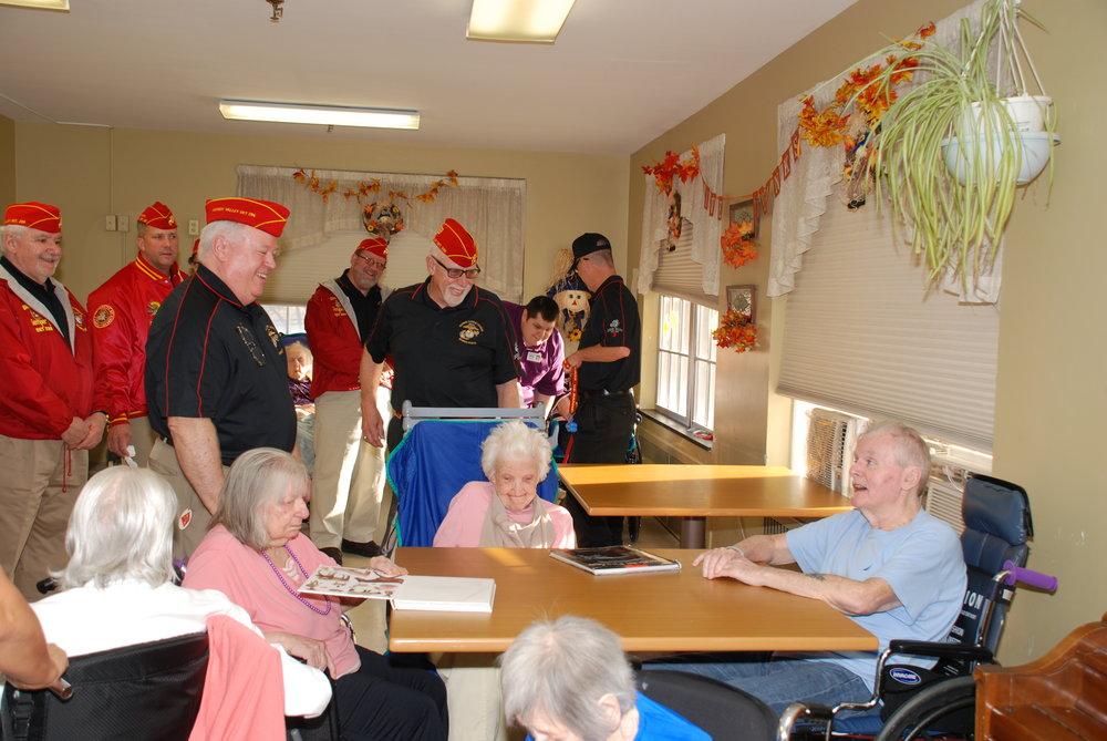 Phoebe Nursing Home Visit 11-11-16