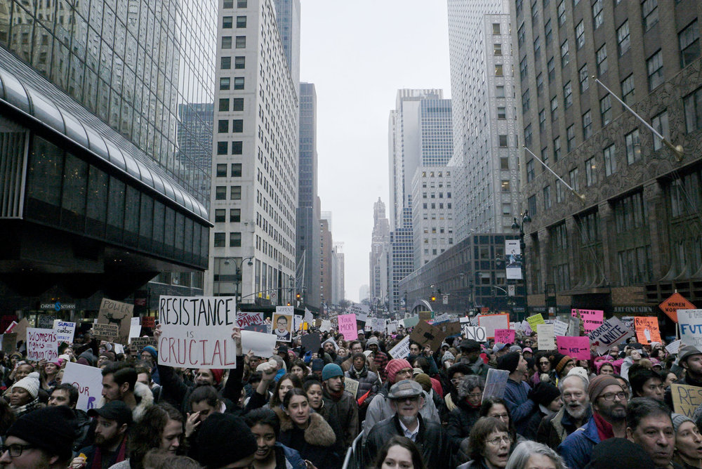 The Women's March in New York City