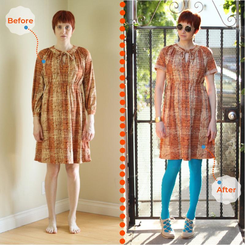 orange plaid dress_b4after text.jpg
