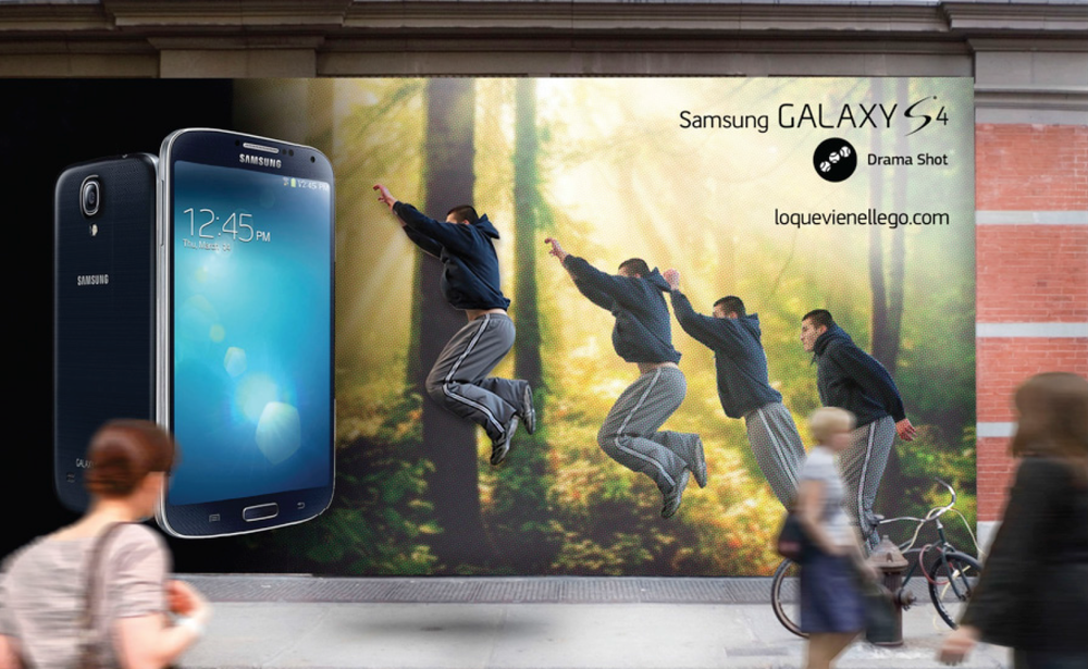Samsung Digital Experience Launch Campaign