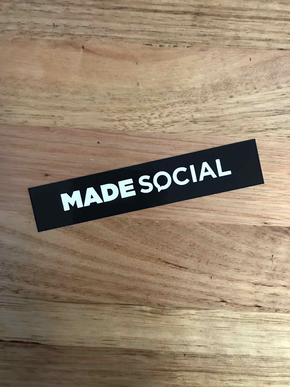 SCREEN PRINTED STICKERS
