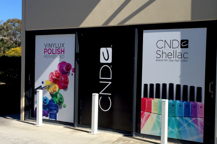 SHOP FRONT SIGNAGE   Here we have installed full colour block out prints to shop windows.