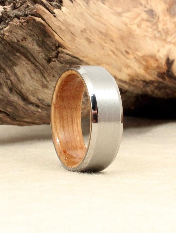 The Original Whiskey Barrel Wedding Ring WedgeWood Rings