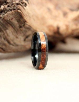 wooden wedding ring engagement olivewood wedgewood ringsjpg - Wooden Wedding Ring