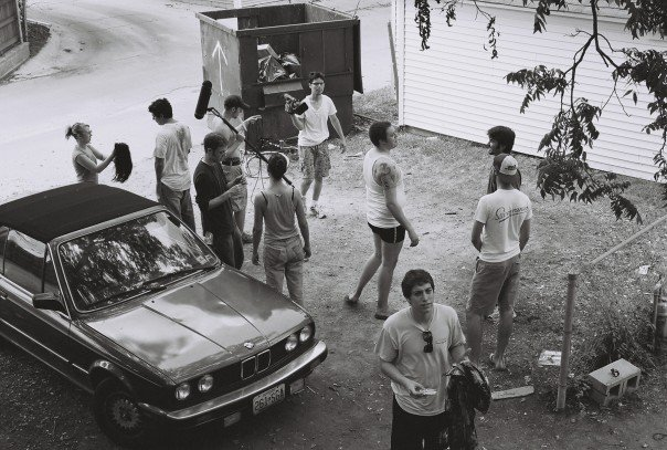 Film set of the resulting feature.