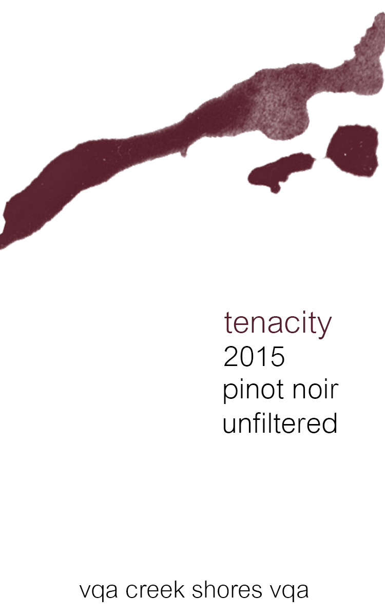 Beppi Crosariol reviews our: Tenacity Pinot Noir 2015 -