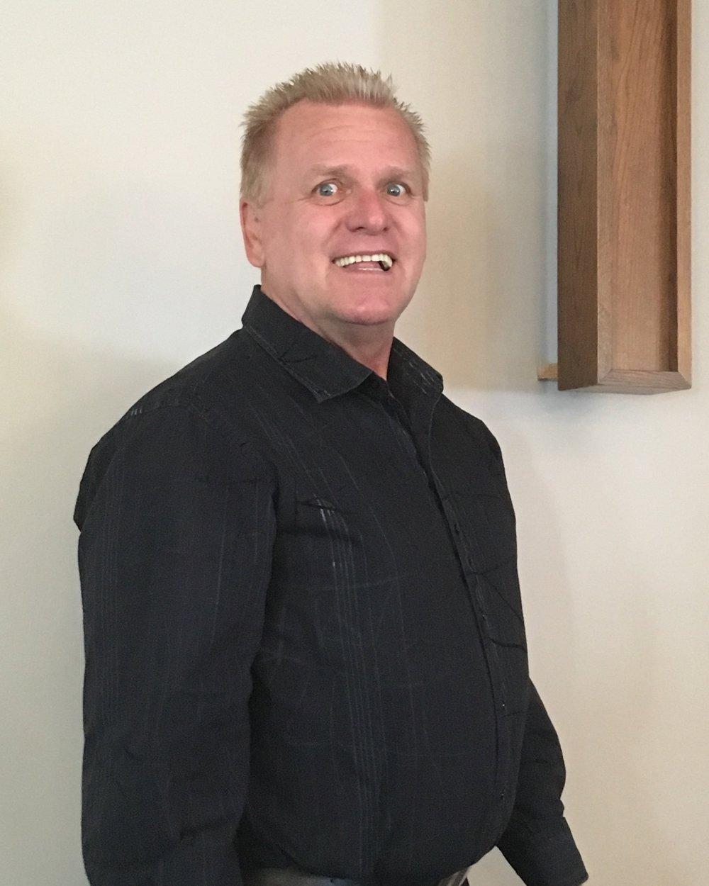 Merv Fehr - Head Usher/Board of Business Member