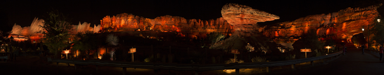 Disney's California Adventure - Radiator Springs Racers 2014