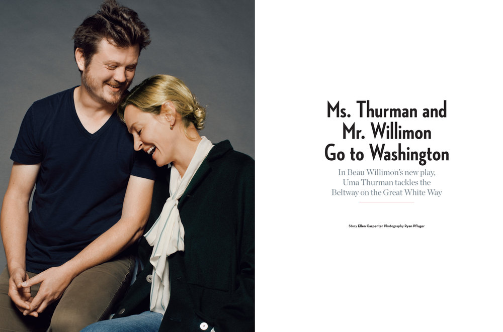 uma thurman and beau willimon