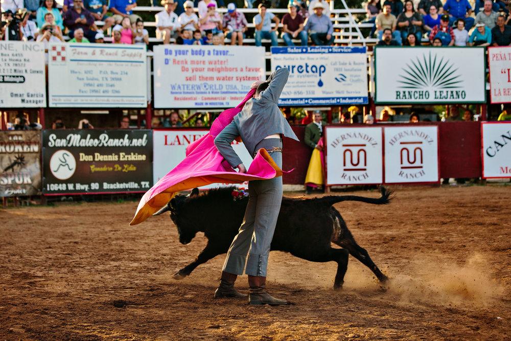colonel jeep, bullfighter