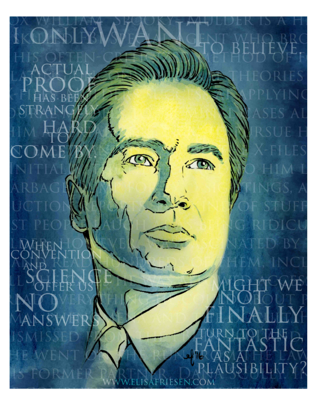 David Duchovny as Fox Mulder