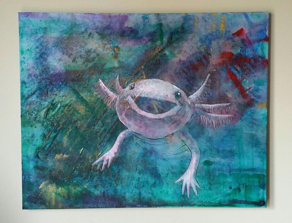 Happy Axolotl