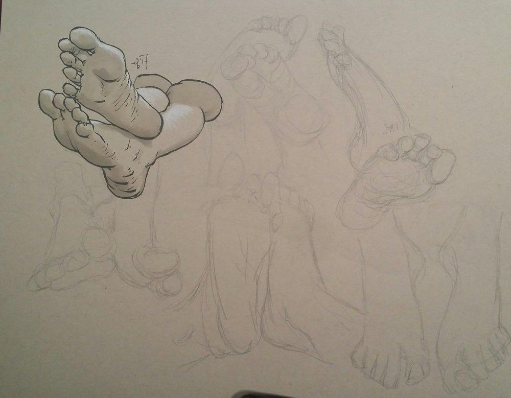 0631 foot studies elisafriesen2017.jpg
