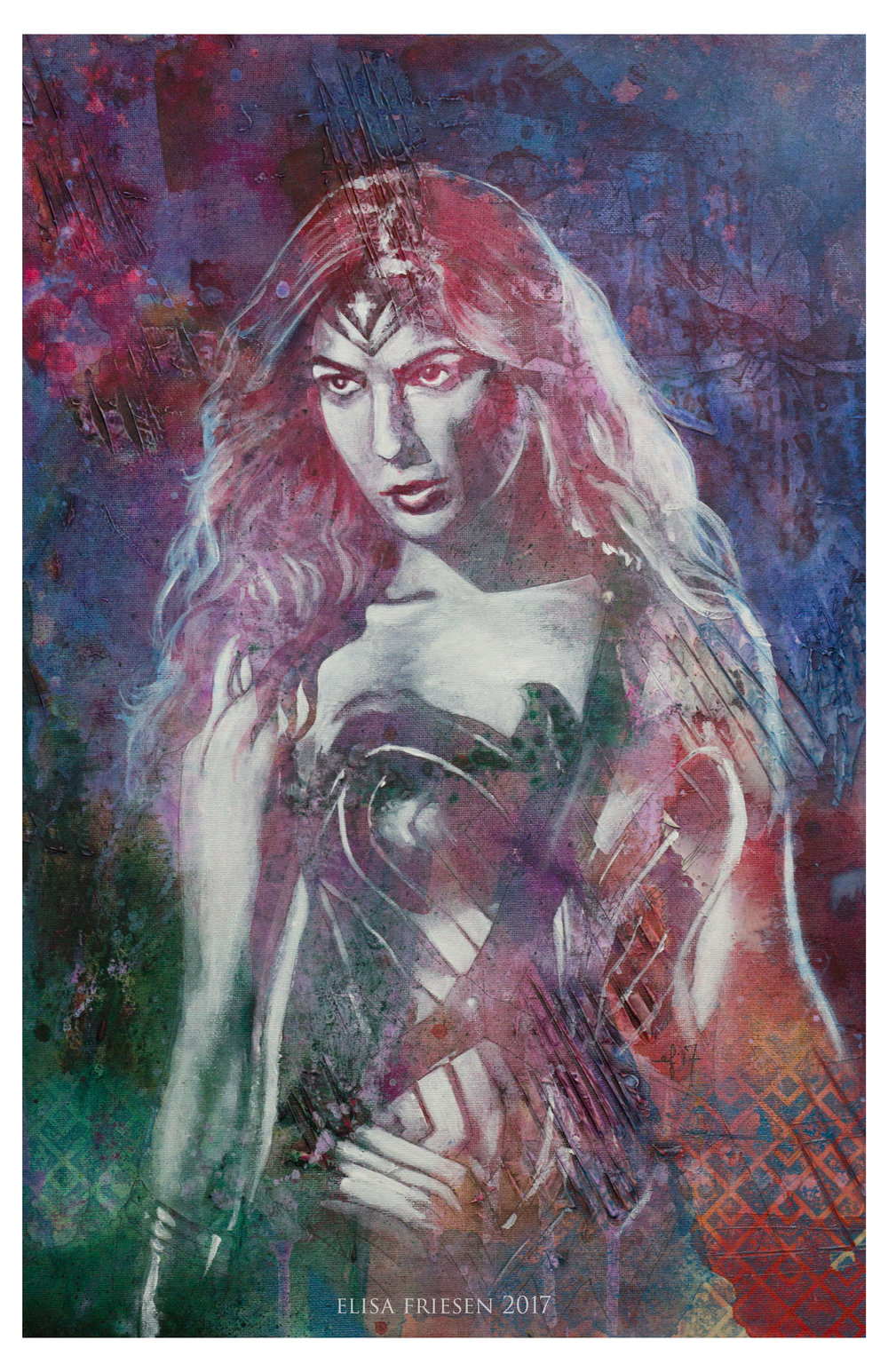 Wonder Woman. SOLD.
