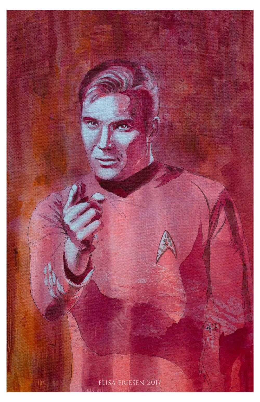 Captain Kirk. SOLD.