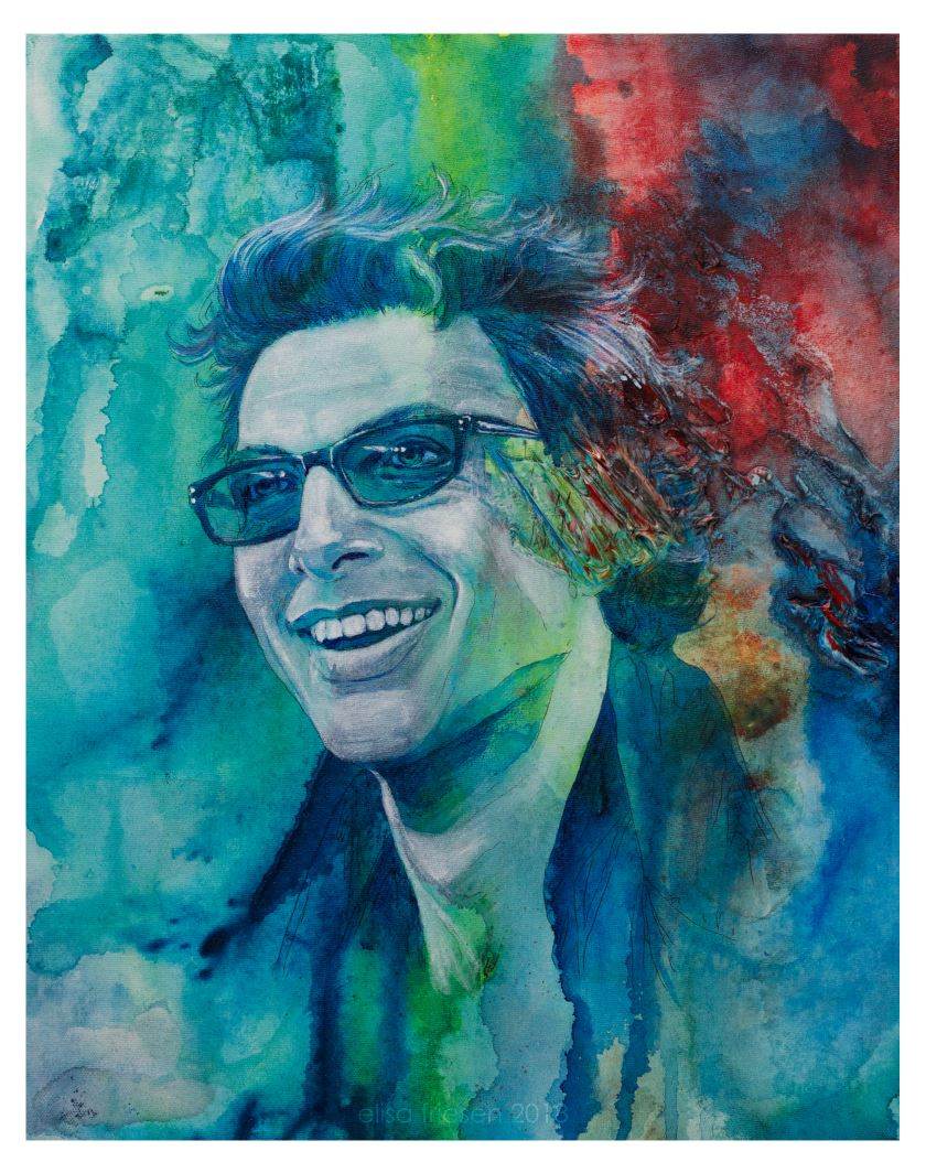 Jeff Goldblum - $500.00. Available to view at The Costume Shoppe in Calgary.