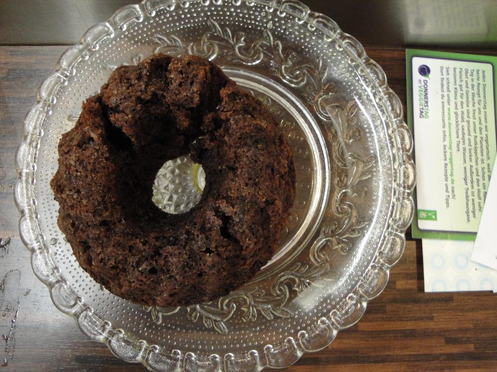 Mini Gugelhupf from Katja the vegan cake baker.