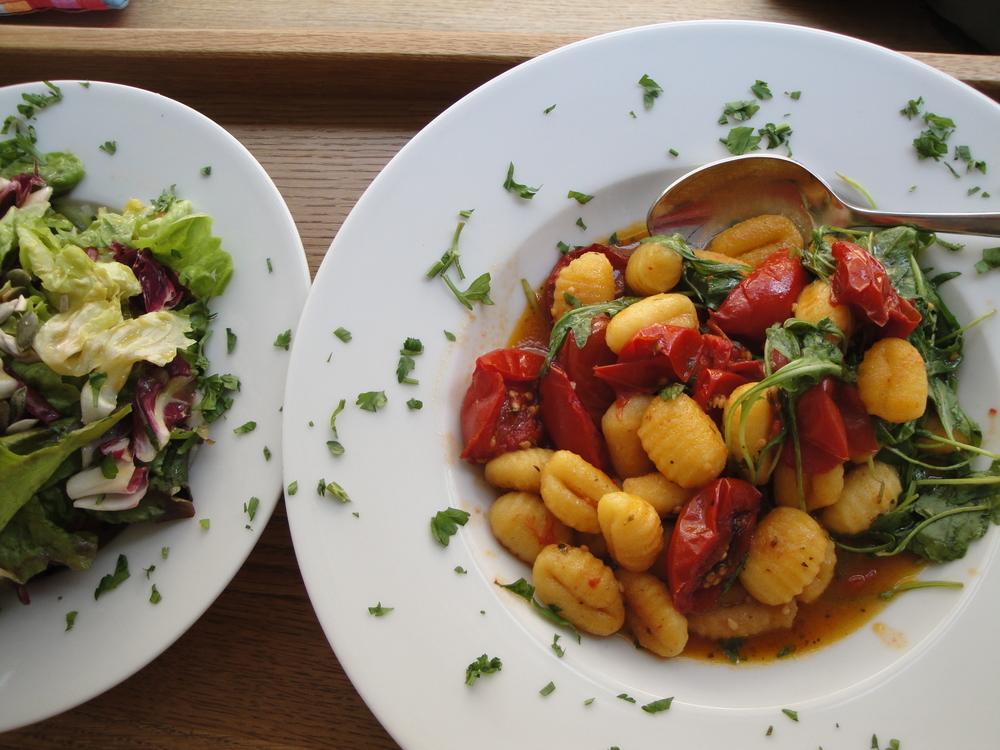 Organic gnocchi in Konstanz.
