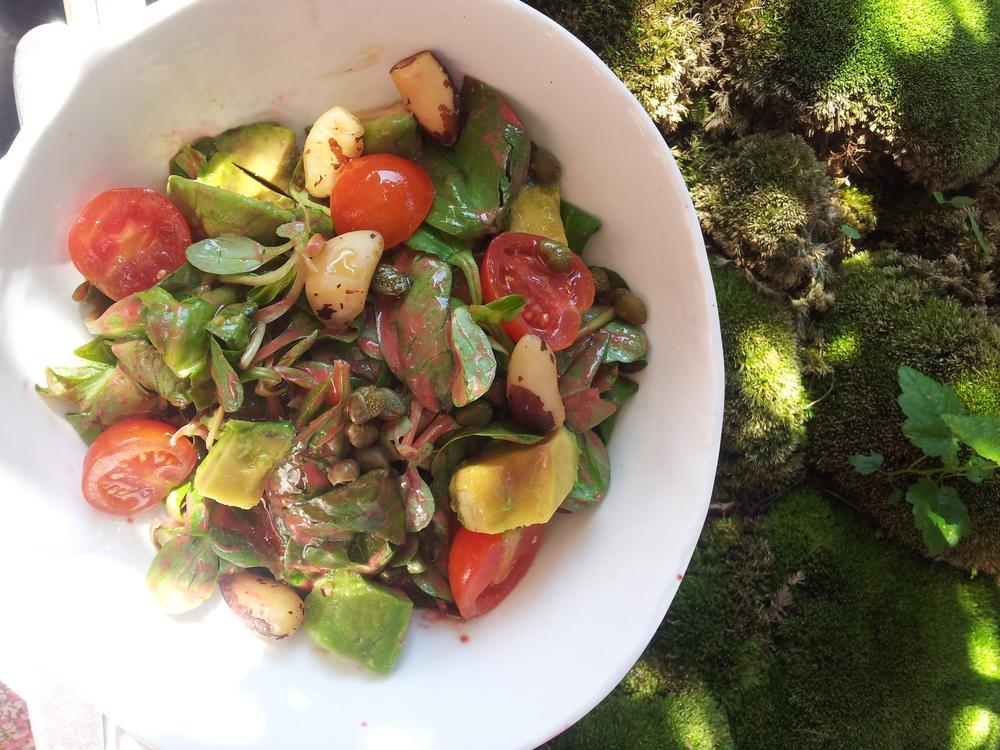 Healthy vegan food at Daluma's