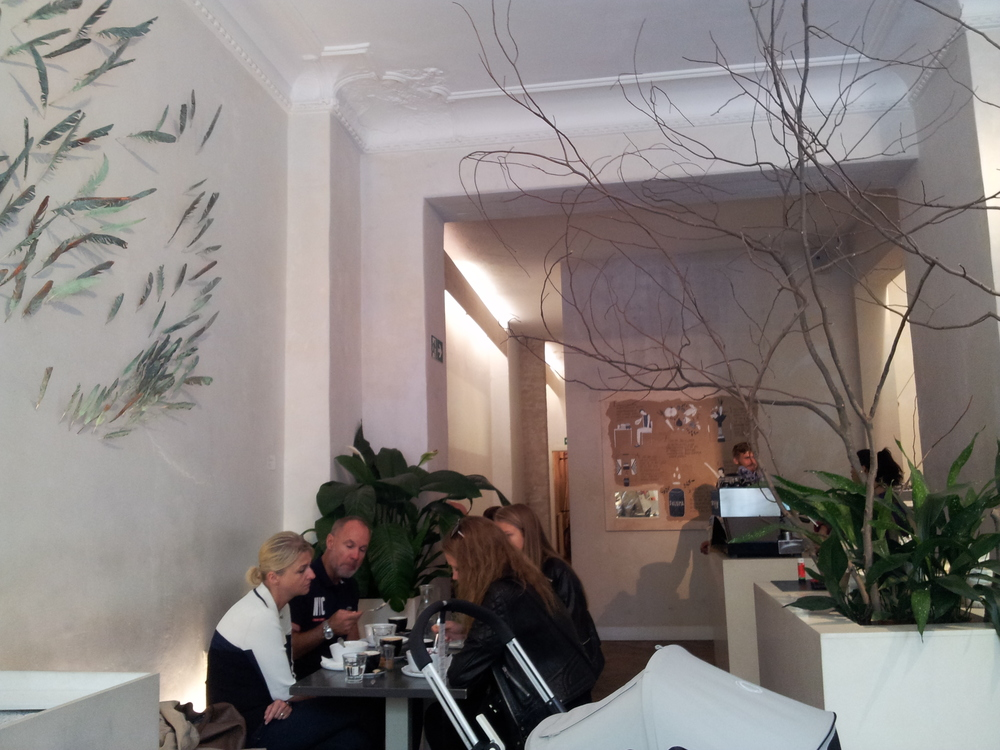 Light, clean, spacious interiors at Daluma's